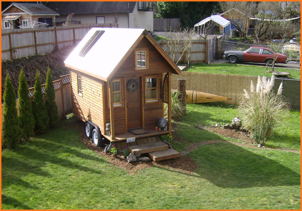 Gallery tiny house roof for Small house photos gallery